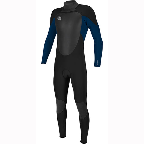 O'Neill O'Riginal 4/3mm Back Zip Full Wetsuit - Black/Deep Sea
