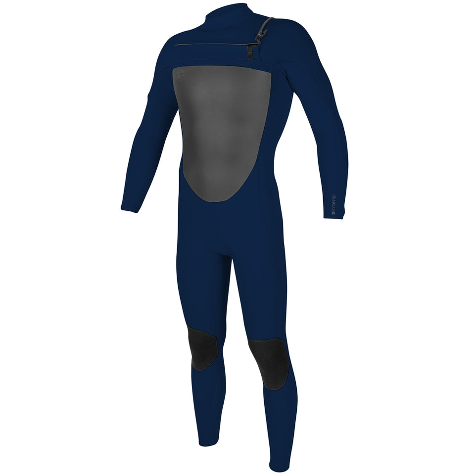 O'Neill O'Riginal 4/3mm Chest Zip Full Wetsuit  - Navy/Navy