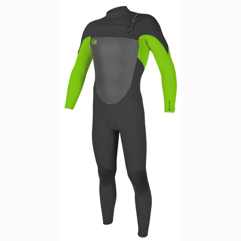 O'Neill O'Riginal 3/2mm Chest Zip Full Wetsuit - Graphite/Day Gl