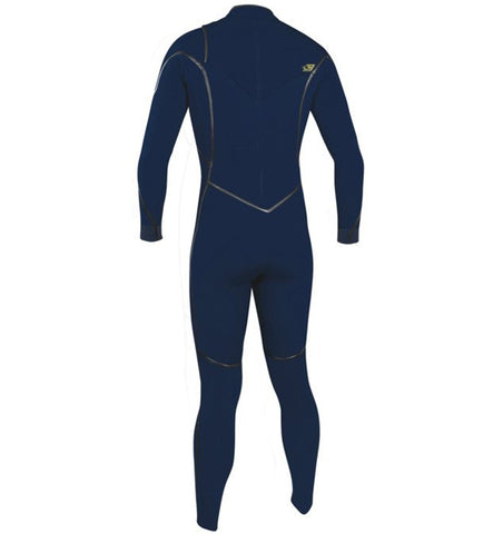 O'Neill Psycho One 3/2 Chest Zip Full Wetsuit - Abyss/Abyss