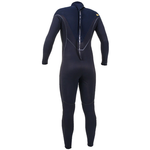 O'Neill Psycho One 5/4mm Back Zip Full Wetsuit - Black/Abyss