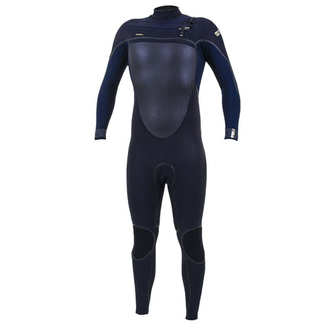 O'Neill Psycho Tech 5/4mm Chest Zip Full Wetsuit  - Black/Abyss