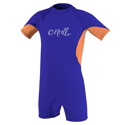 O'Neill Toddler O'Zone UV Lycra Shortie - Colbalt