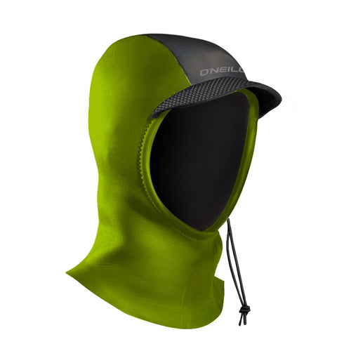 O'Neill Youth Psycho 3mm Hood - Dayglo Green
