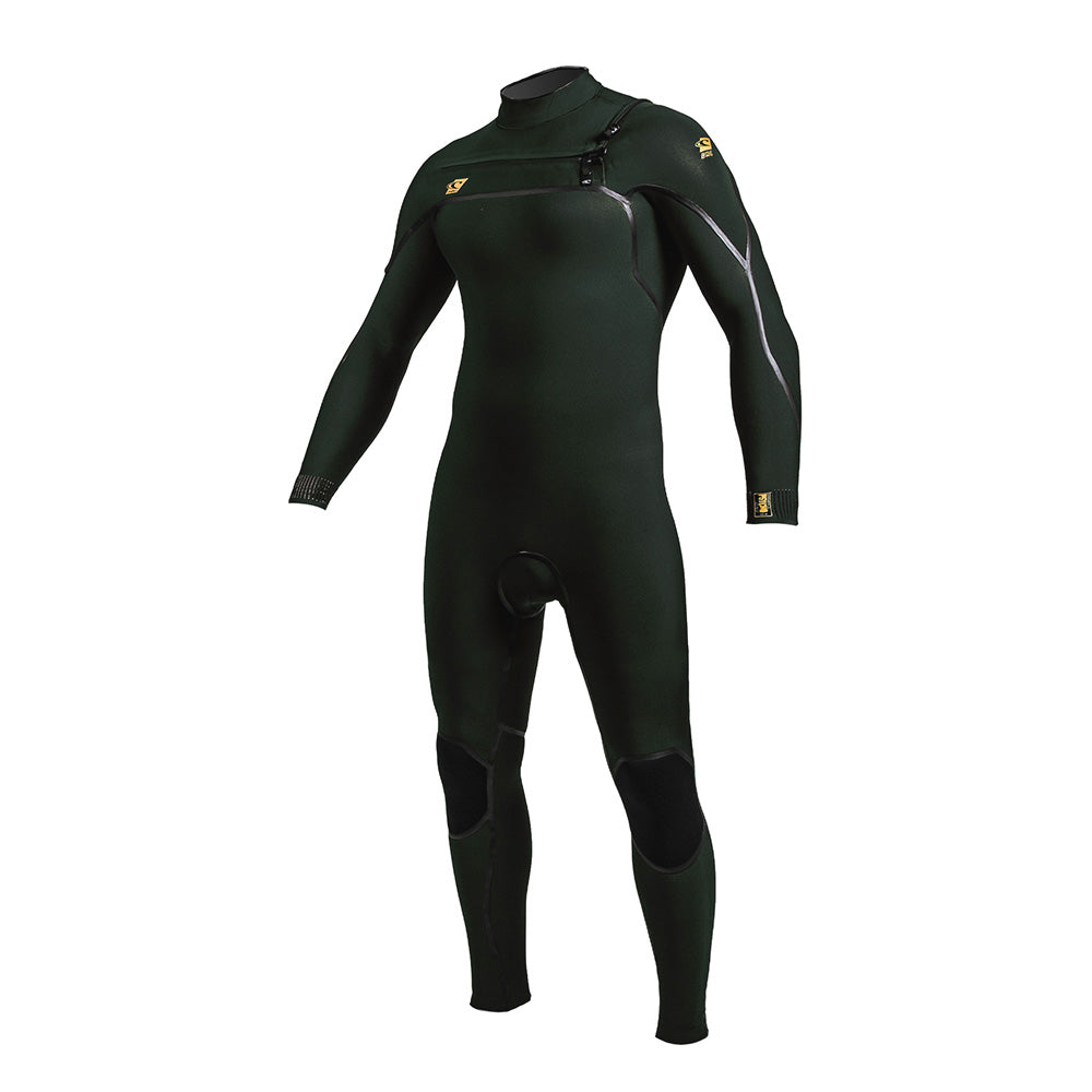 O'Neill Psycho One 3/2mm Chest Zip Wetsuit -Dark Olive/Dark Olive