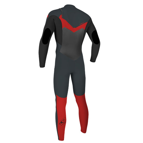 O'Neill Youth Epic 5/4 CZ Winter Wetsuit - Gunmetal/Black/Red