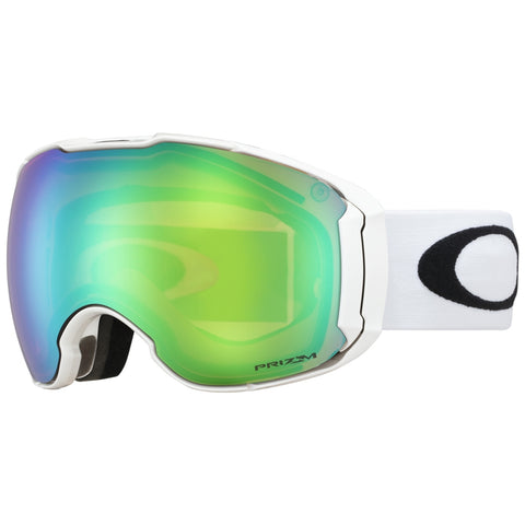 Oakley Airbrake XL Snowboard/Ski Goggles - Polished White With Prizm