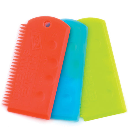 Ocean and Earth Flex Wax Comb
