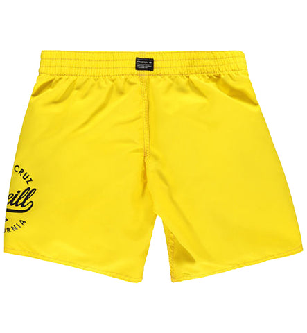 O'Neill Boys Surf Cruz Boardshorts yellow