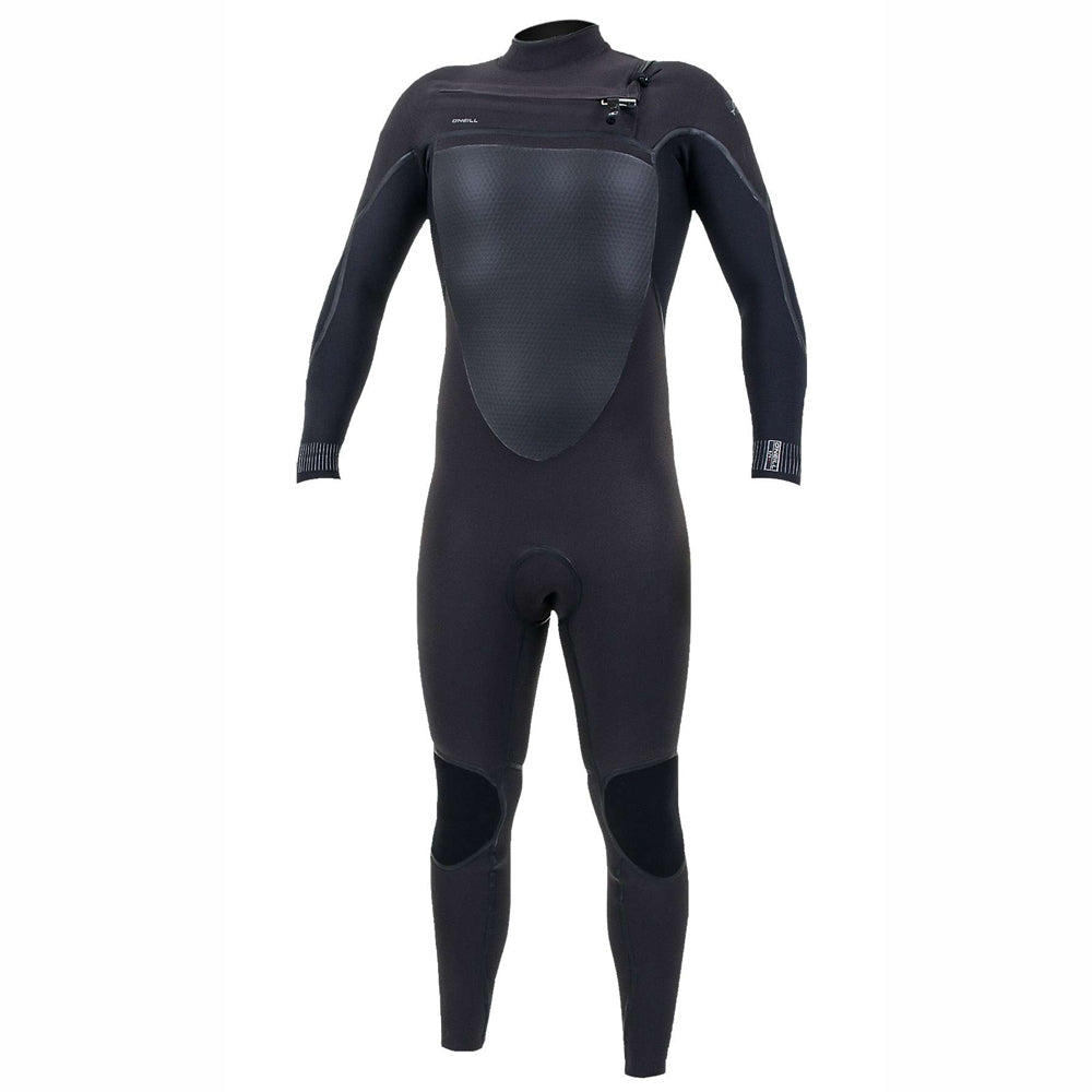 O'Neill Psycho Tech 5/4mm Chest Zip Full Wetsuit - Raven/Black