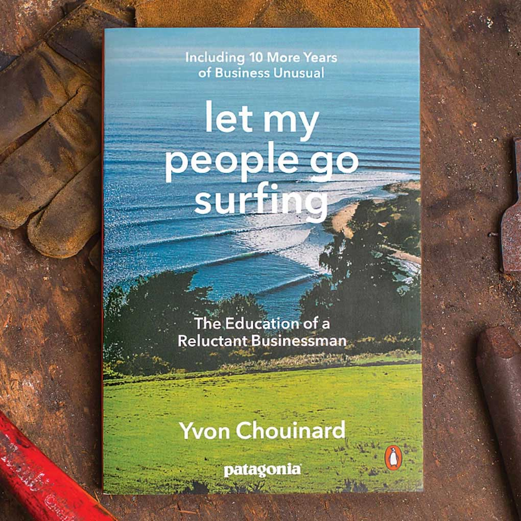 Let my People Go Surfing Book - Yvon Chouinard