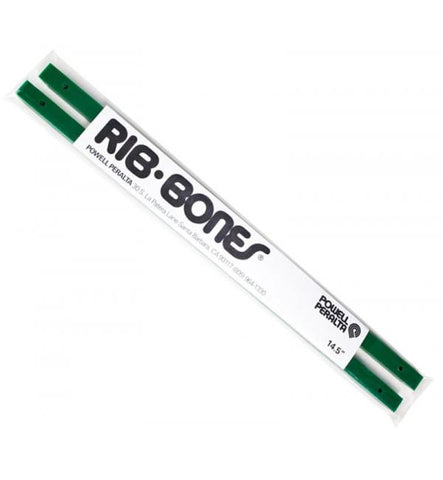 Powell Rib Bones Skateboard Rails green