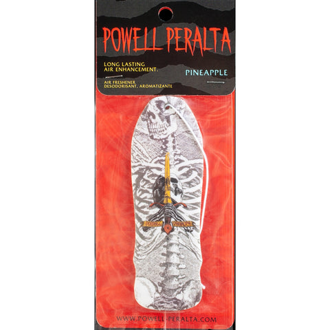 Powell Peralta Air Freshener - Geegah Skull and Sword Pineapple