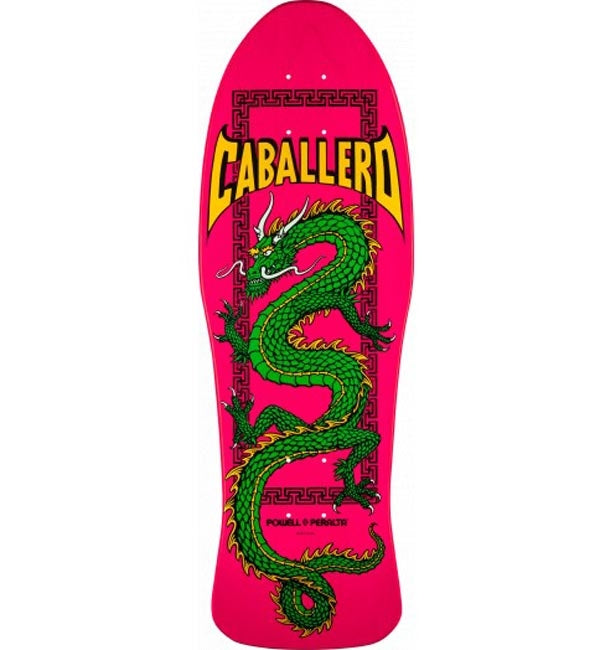 Powell Peralta Caballero Chinese Dragon Pink Deck