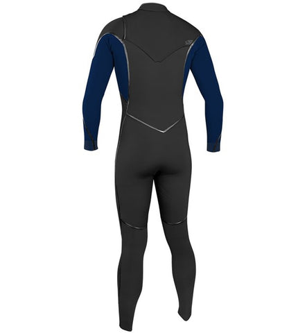O'Neill Psycho One 4/3 Chest Zip Full Wetsuit - Abyss/Abyss