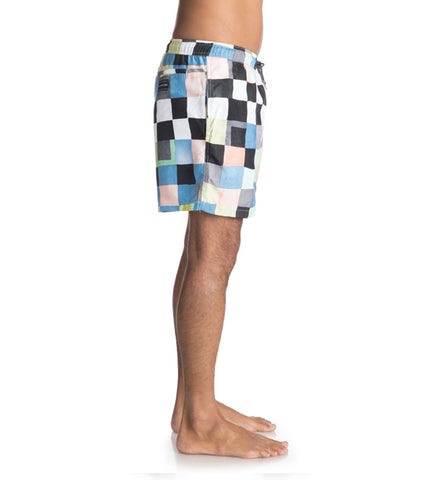 Quiksilver Resin Check Volley 15 Swim Shorts