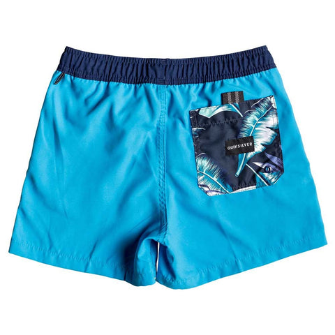 Quiksilver Boys Glitch Volley Youth 13 Boardshort