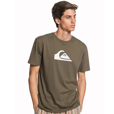 Quiksilver Comp Logo Short Sleeved T Shirt