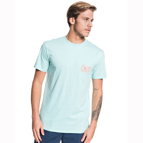Quiksilver Daily Wax Short Sleeved T Shirt