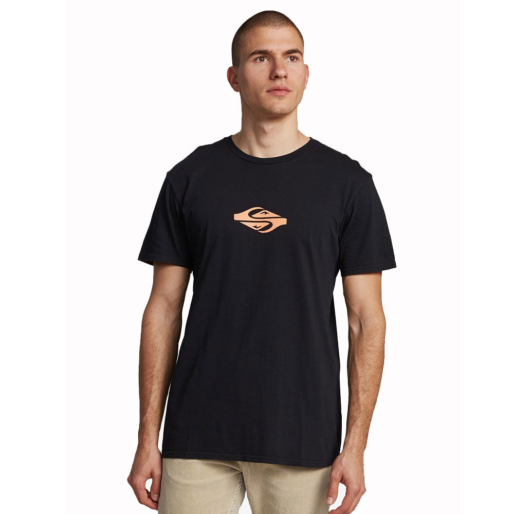 Quiksilver Either Way Short Sleeved T Shirt