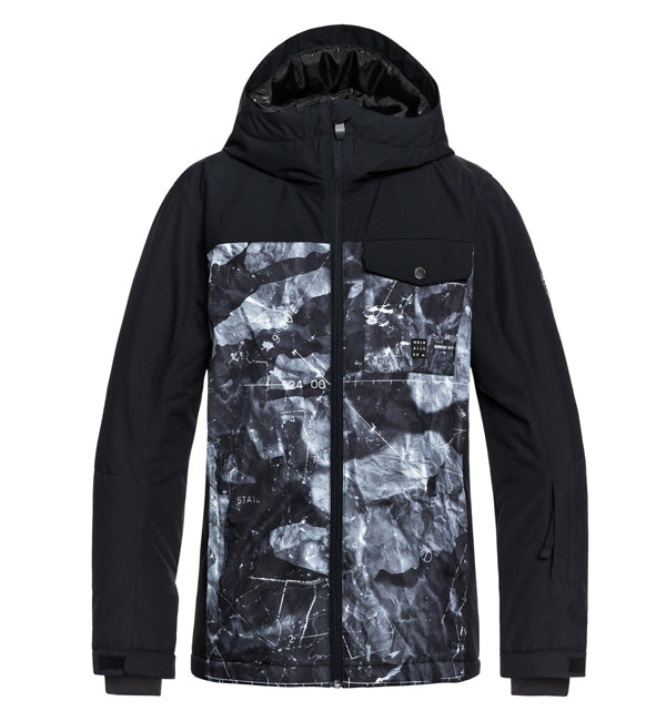 Quiksilver Mission Block Youth Snowboard/Ski Jacket