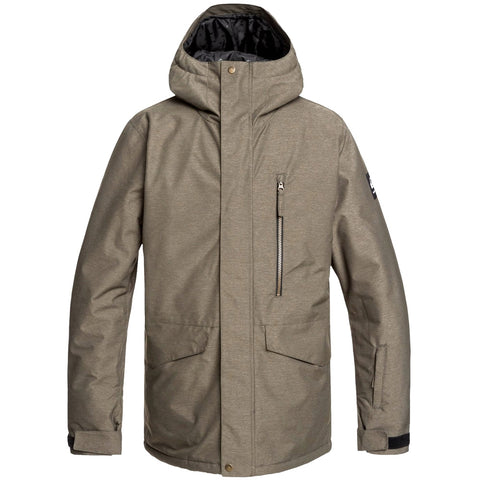 Quiksilver Mission Snowboard/Ski Jacket - Grape Leaf