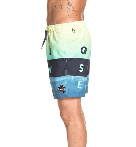 Quiksilver Word Block Volley 17 Boardshorts