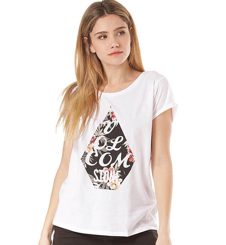 Volcom Womens Radical Daze Short Sleeved T Shirt