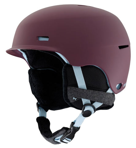 Anon Womens Raven Snow/Ski Helmet - Purple
