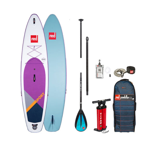 Red Paddle Co Sport 11'3 Purple 2020 Stand Up Paddle Board