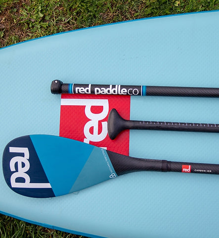 Red Carbon 100 Cam-Lock SUP Paddle