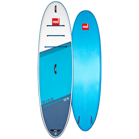 Red Ride MSL 10'8 Inflatable Paddle Board Carbon 100 Package