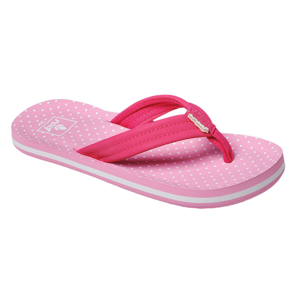 Reef Girls Ahi Flip Flops  - Polka Dot