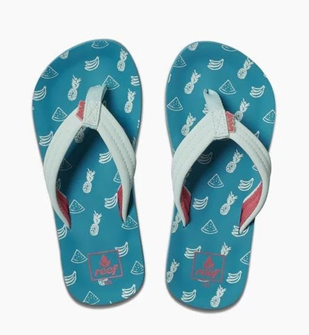 Reef Girls Ahi Flip Flops - Fruits