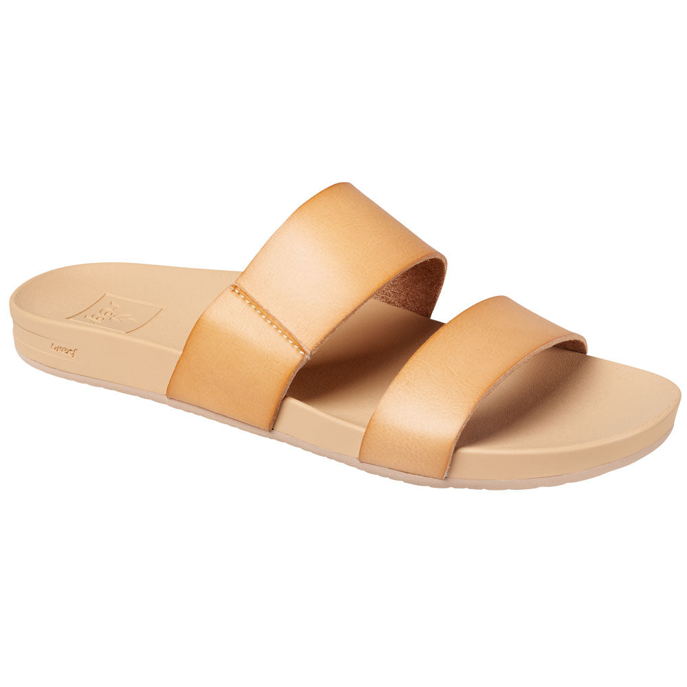 Reef Womens Cushion Bounce Vista Sandal - Natural