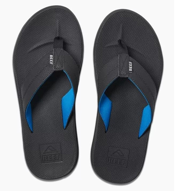 Reef Element TQT Flip Flops - Black/Lightblue