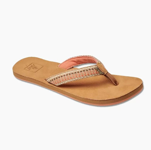 Reef Womens Gypsylove Flip Flops - Sunset