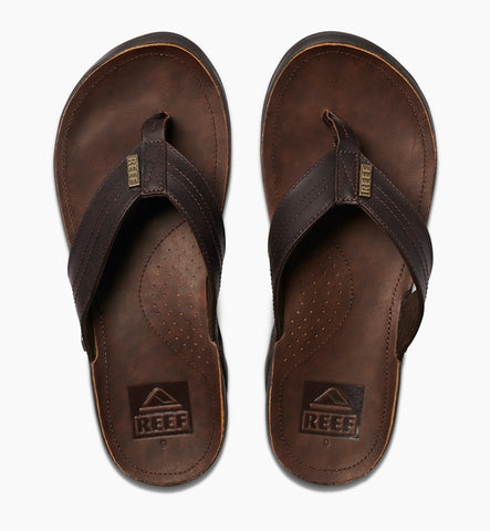 Reef J-Bay III Flip Flops - Dark Brown/Dark Brown