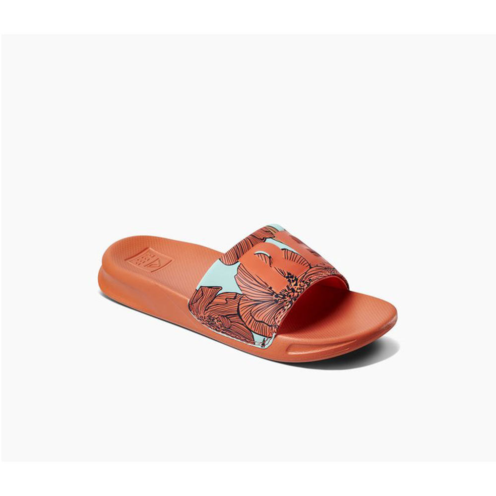 Reef Kids One Slide Sandals  - Coral Blossom