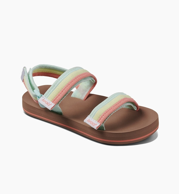 Reef Little Ahi Convertible Sandals  - Rainbow