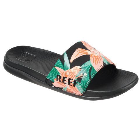 Reef Womens One Slide Sandal - Hibiscus