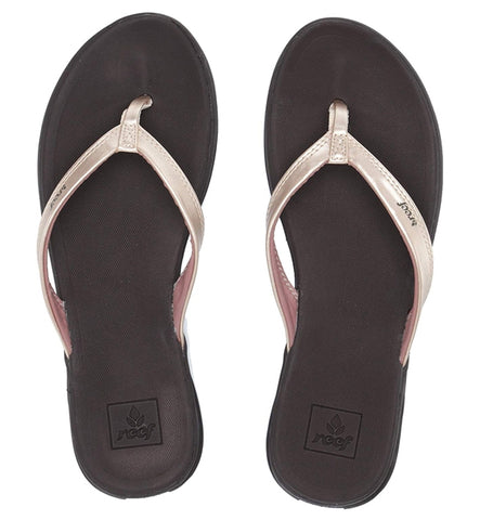 Reef Womens Rover Catch Flip Flops - Champagne