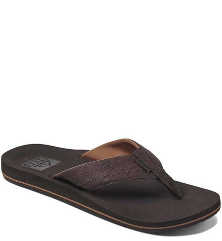 Reef Twinpin Lux Flip Flops - Brown
