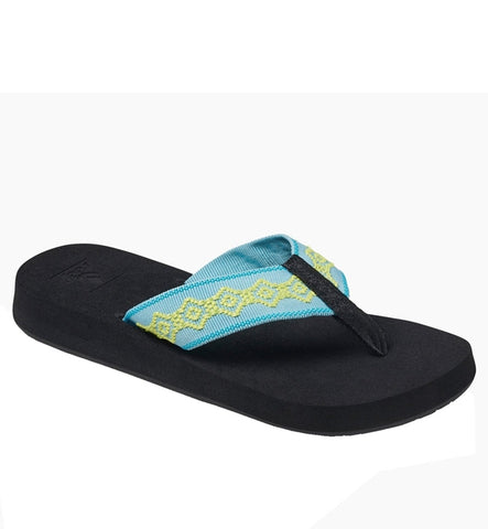 Reef Womens Sandy Flip Flops - Aqua