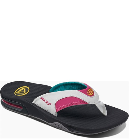 Reef Womens Fanning Flip Flops - Bright Nights