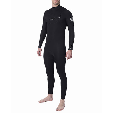 Rip Curl Dawn Patrol 5/3mm Chest Zip Winter Wetsuit - Black