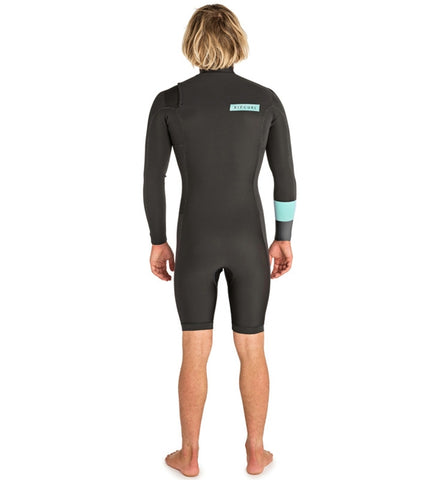 Rip Curl Aggrolite 2mm Chest Zip Long Sleeved Shortie Wetsuit - T