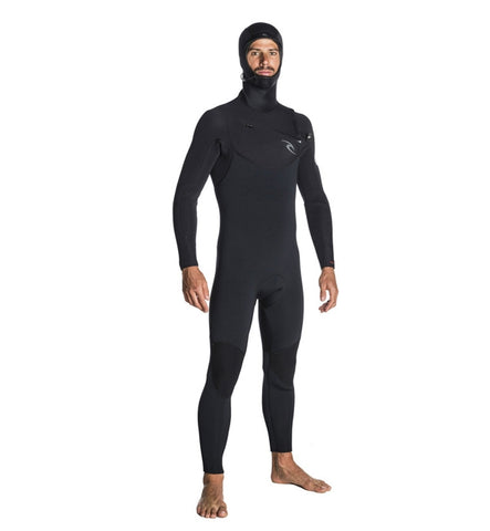 Rip Curl Dawn Patrol 5/4mm Chest Zip Hooded Winter Wetsuit