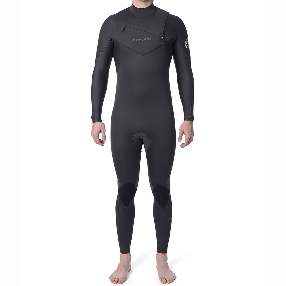 Rip Curl Dawn Patrol Performance 5/3mm CZ Full Wetsuit - Charcoal