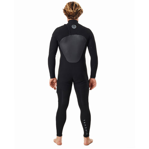 Rip Curl Flashbomb 5/3mm Chest Zip Winter Wetsuit - Black